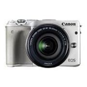 Canon EOS M3 24.2 Megapixel Mirrorless Digital Camera with Lens, White