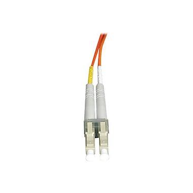 Tripp Lite N516-10M 10m LC/SC Male/Male 50/125 OM2 Duplex Multimode Fiber Optic Patch Cable, Orange