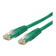 StarTech 7' Molded Cat6 UTP Patch Cable, Green