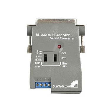 StarTech RS-232 to RS485/422 Serial Converter, Gray