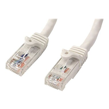 StarTech 3' Snagless Cat6 UTP Patch Cable, White