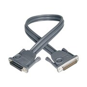 Tripp Lite P772-015 15' DB25 to DB25 Male/Female Daisychain Cable, Gray