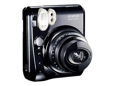 Fujifilm instax mini 50S Instant Film Camera, 60 mm, Piano Black