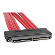 "StarTech SAS84S450 19.7"" SFF-8484/SATA SAS Cable, Red"