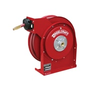 "Reelcraft Spring Rewind Hose Reel for 25' x 3/8"" ID Air/Water Hose"