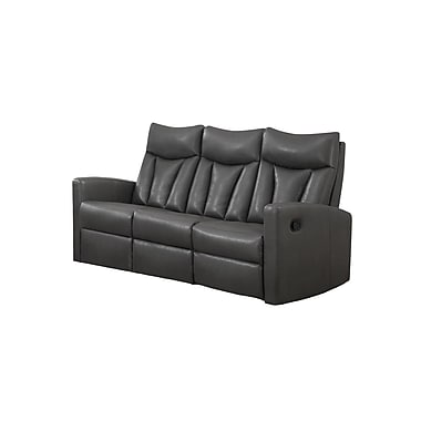 Monarch Reclining Jonathan Series, Bonded Leather Sofa