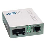AddOn 1000Base-TX to 1000Base-SX ST MMF 850 nm 550 m Switching Media Converter
