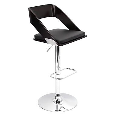 Lumisource Vuno Bar Stool, Black (BS-JY-VN WNG+BK)