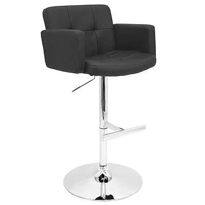 Lumisource Stout Bar Stool (BS-TW-STOUT BK)