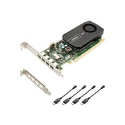 PNY® VCNVS510DP PB Quadro NVS 510 GPU Graphic Card With NVIDIA Chipset, 2GB DDR3 SDRAM