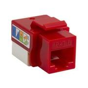 4XEM™ UTP 110-Type Cat6 RJ45 Keystone Jack, Red (4XKJC6RD)