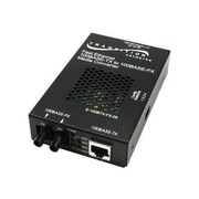 Transition Networks® E-100BTX-FX-05(SC) 2 Port RJ45 to SC Stand Alone Fast Ethernet Media Converter
