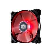 Cooler Master® JetFlo 120 POM Bearing Red LED High-Performance Silent Cooling Fan, Black (R4-JFDP-20PR-R1)