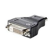 HP® F5A28AA HDMI to DVI Male/Female Video Adapter, Black