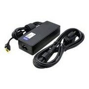 AddOn 90 W Laptop Power Adapter, Black, For Lenovo ThinkPad E555/W550s