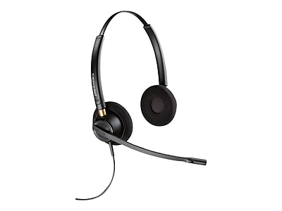 Plantronics® EncorePro 500 Digital 203192-01 Wired Over-The-Head Headset, Black
