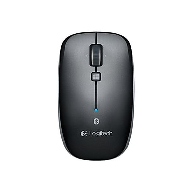 Logitech Dark Gray Bluetooth Optical Mouse
