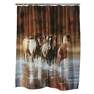 American Expedition V Shultz Horse Shower Curtain