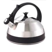 Creative Home Steppes 2.8-qt. Whistle Tea Kettle; Black