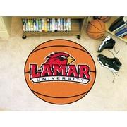 FANMATS NCAA Lamar University Basketball Mat