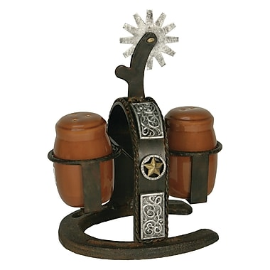 American Expedition Spur Salt and Pepper Shaker