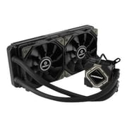 Enermax Liqmax II Series Ceramic Bearing Liquid CPU Cooler, 96 CFM (ELC-LMR240-BS)