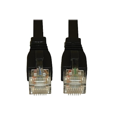 Tripp Lite N261-003-BK 3' Cat6a RJ-45 Male/Male Snagless 10G Patch Cable, Black