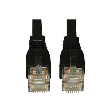 Tripp Lite N261-025-BK 25' Cat6a RJ-45 Male/Male Snagless 10G Patch Cable, Black (4175818)