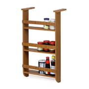 Furinno Wall Mount Spice Rack in Cherry