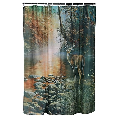 American Expedition Deer Shower Curtain