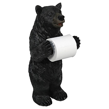 American Expedition Bear Free Standing Toilet Paper Holder