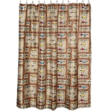 American Expedition Antique Lure Shower Curtain
