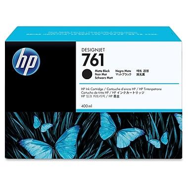 HP – Cartouche d'encre 761, jet d'encre, fabricant d'origine, noir, (CM991A)