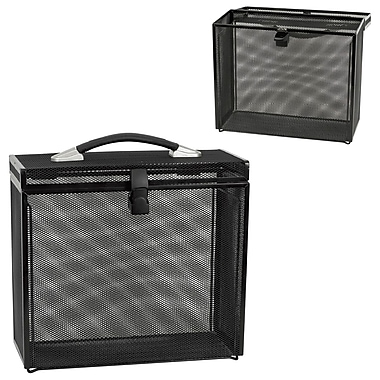 Merangue Portable Mesh File Box