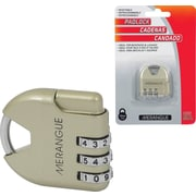 Merangue Combination Lock, 12/Pack