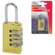 Merangue Solid Brass Resettable Combination Lock