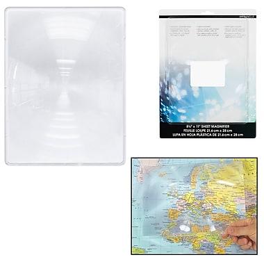Merangue Large Sheet Magnifier, 2mm Thick