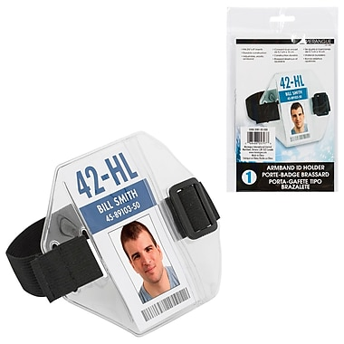 Merangue Armband ID Holder, 10/Pack