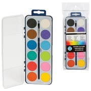 Merangue 12 Colour Drycake Paintset, 12/Pack