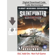 Silent Hunter 4 : Wolves of the Pacific : Extension U-Boat pour PC (téléchargement)