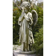 Roman, Inc. Young Praying Angel Garden Statue