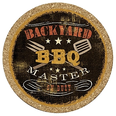 Thirstystone Backyard BBQ Cork Trivet
