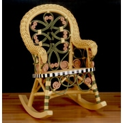 Yesteryear Victorian Child's Cotton Rocking Chair; Carousel
