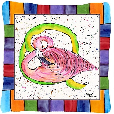 Caroline's Treasures Beach and Seafood Monogram Indoor/Outdoor Throw Pillow; Q