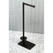 Kingston Brass Claremont Freestanding Toilet Paper Holder; Oil Rubbed Bronze