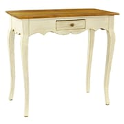 Antique Revival Maryanna Console Table; White