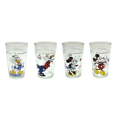 R Squared Disney 8 Piece 8 oz. Mickey and Friends Juice Glass Set (Set of 8)