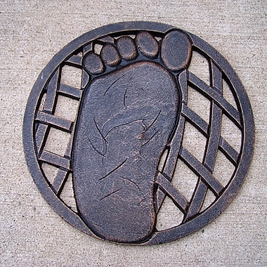 Oakland Living Foot Stepping Stone; Left Foot