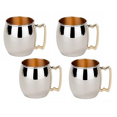Old Dutch 16 Oz. Solid Moscow Mule Mug (Set of 4)