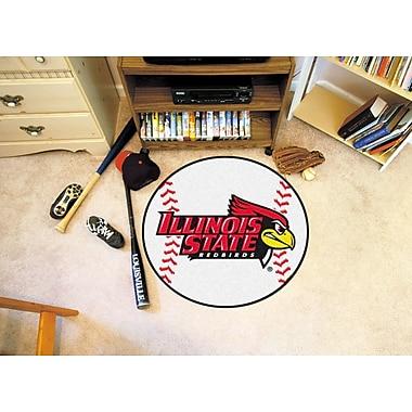 FANMATS NCAA Illinois State University Baseball Mat